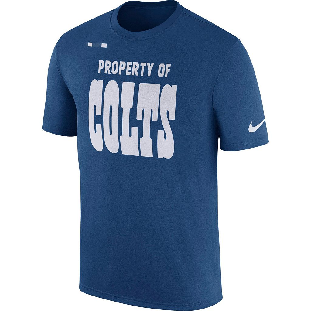Men's Nike Indianapolis Colts Property Of Tee