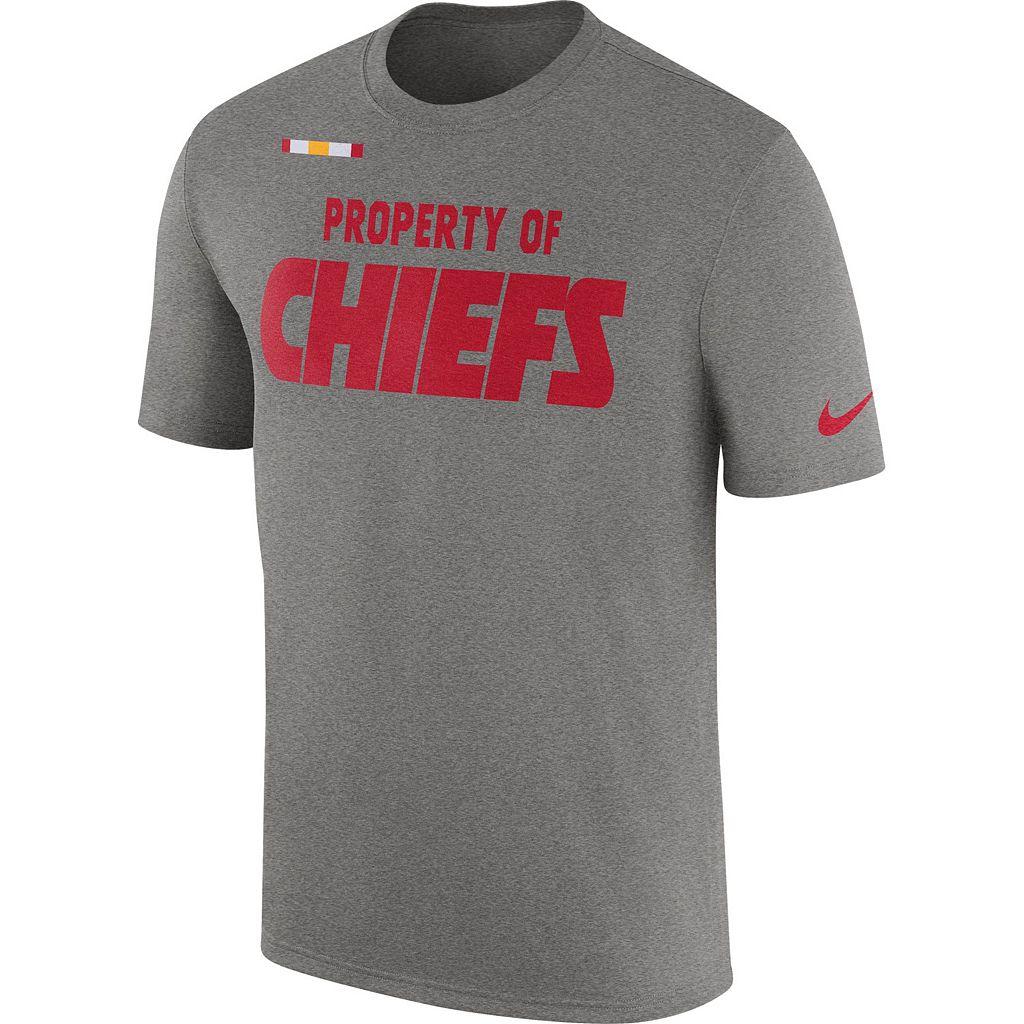 Men's Nike Kansas City Chiefs Property Of Tee