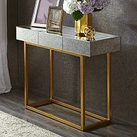 Madison Park Willa Mirrored Console Table