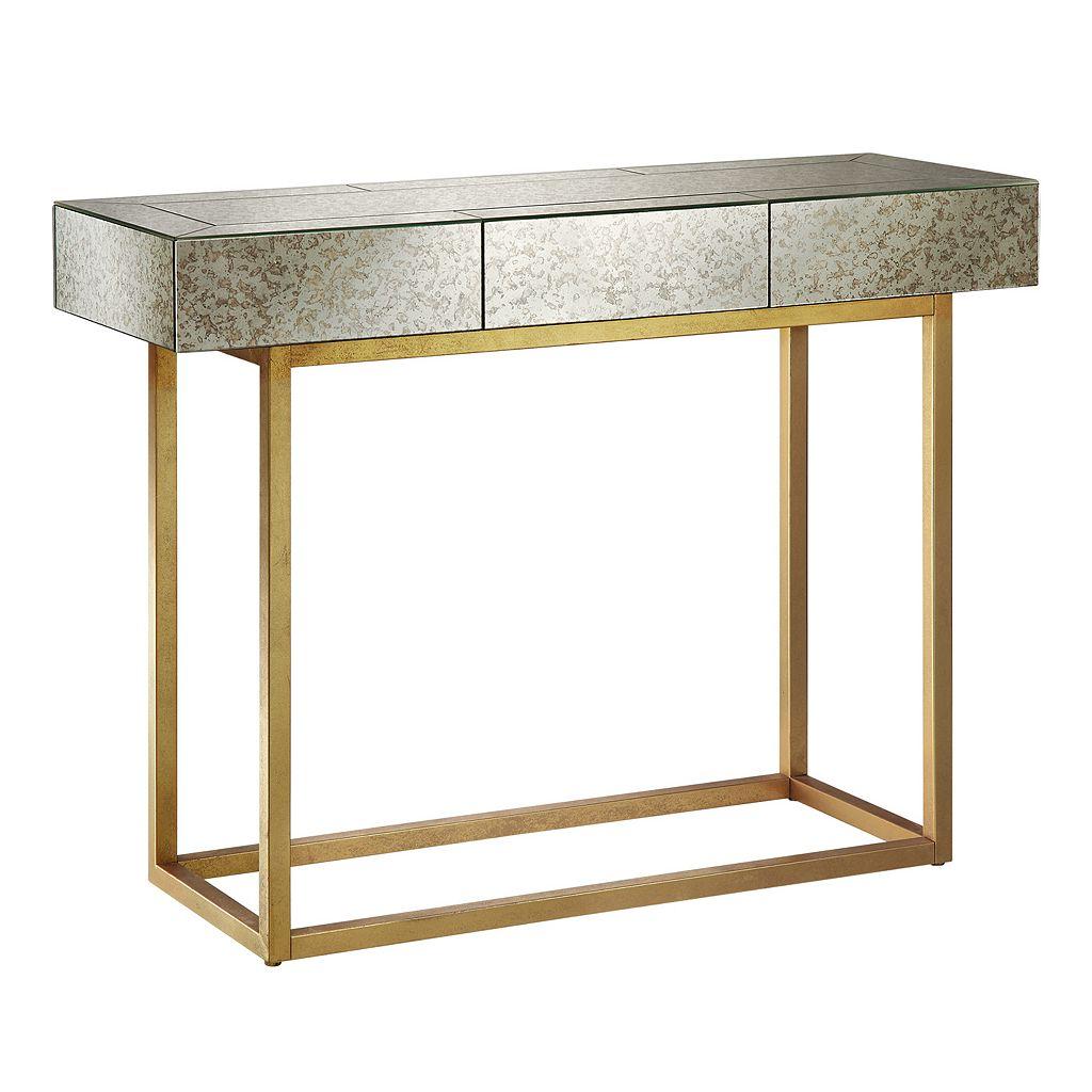 Madison Park Willa Mirrored Console Table