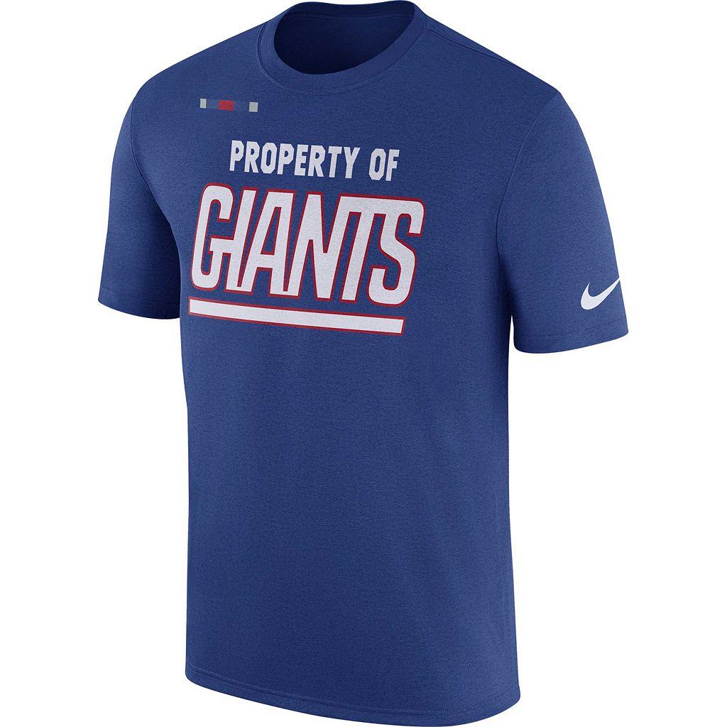 Men's Nike New York Giants Property Of Tee