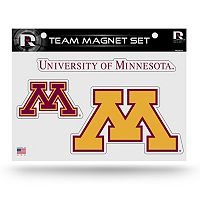 Minnesota Golden Gophers Team Magnet Set
