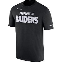 Men's Nike Oakland Raiders Property Of Tee