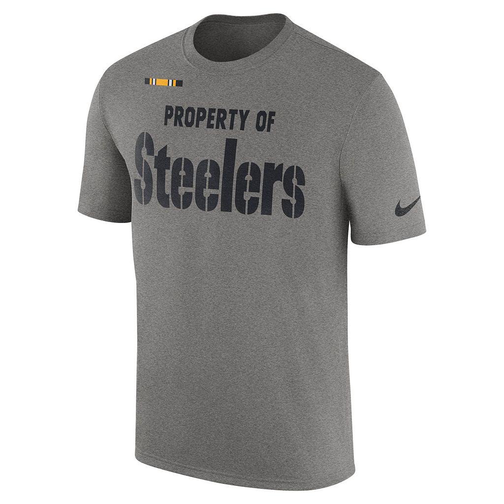 Men's Nike Pittsburgh Steelers Property Of Tee
