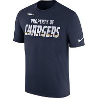 Men's Nike San Diego Chargers Property Of Tee