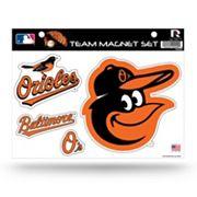 Baltimore Orioles Team Magnet Set