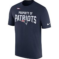 Men's Nike New England Patriots Property Of Tee