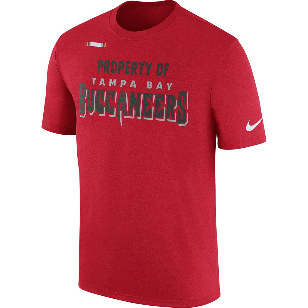 Men's Nike Tampa Bay Buccaneers Property Of Tee