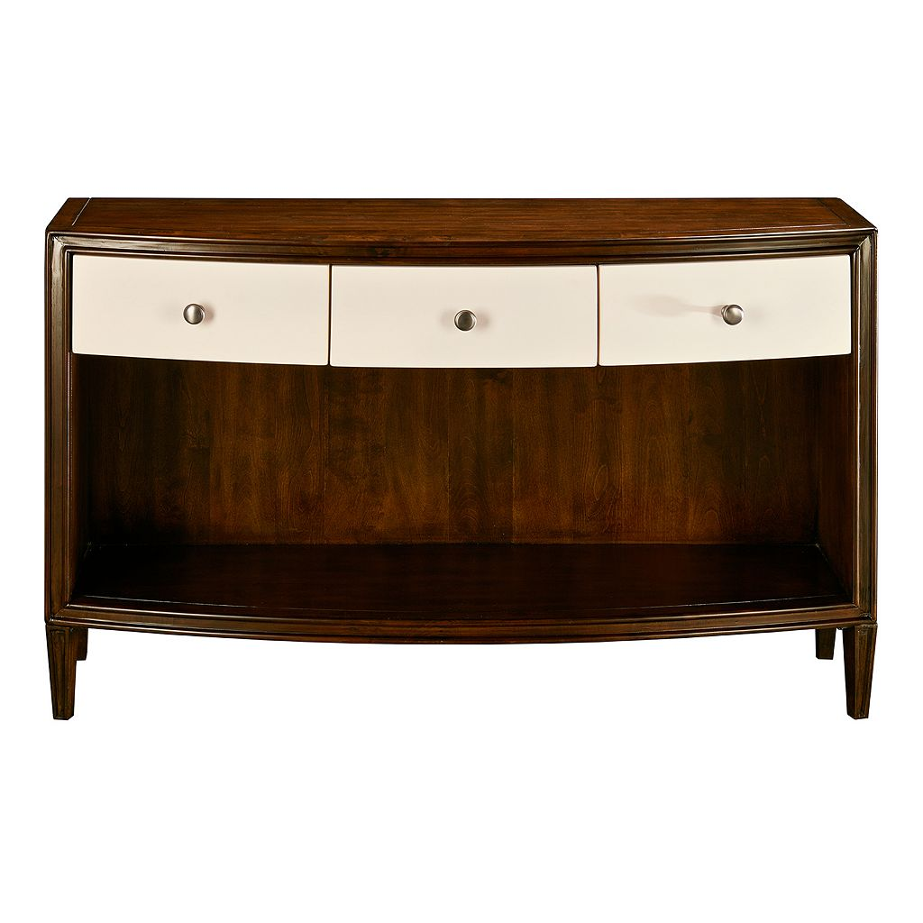 Madison Park Two-Tone Console Table