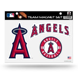 Los Angeles Angels of Anaheim Team Magnet Set