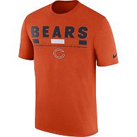 Men's Nike Chicago Bears Legend Staff Tee