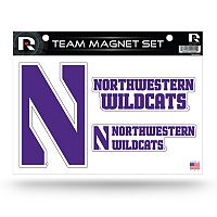 Northwestern Wildcats Team Magnet Set