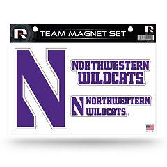 Northwestern Wildcats Team Magnet Set