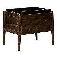 Madison Park Joseph Tray Top End Table 2-piece Set