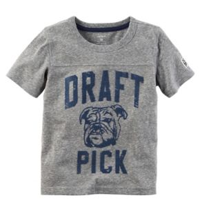 "Toddler Boy Carter's ""Draft Pick"" Tee"
