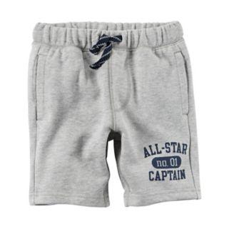 "Toddler Boy Carter's ""All-Star Captain"" Shorts"