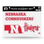 Nebraska Cornhuskers Team Magnet Set