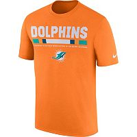 Men's Nike Miami Dolphins Legend Staff Tee