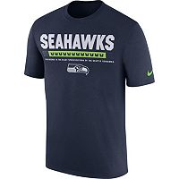 Men's Nike Seattle Seahawks Legend Staff Tee