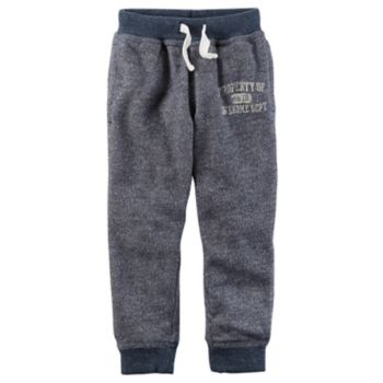 "Toddler Boy Carter's ""Property of Awesome Dept."" Knit Pants"