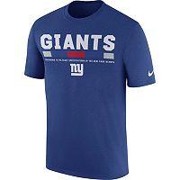 Men's Nike New York Giants Legend Staff Tee
