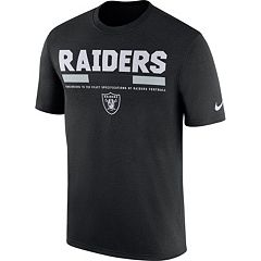 Men's Nike Oakland Raiders Legend Staff Tee