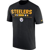 Men's Nike Pittsburgh Steelers Legend Staff Tee