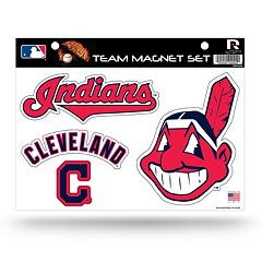 Cleveland Indians Team Magnet Set