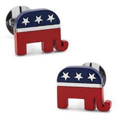 Republican Elephant Cuff Links