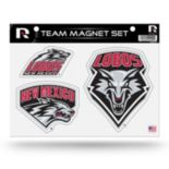 New Mexico Lobos Team Magnet Set