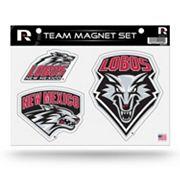 New Mexico Lobos Team Magnet Set