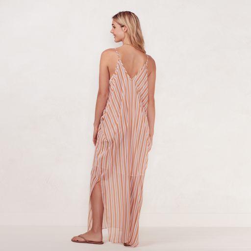 Women's LC Lauren Conrad Beach Shop Cold-Shoulder Maxi Dress