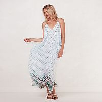 Women's LC Lauren Conrad Beach Shop Cold-Shoulder Maxi Dress