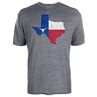 Men's Texas Longhorns Flag State Tee