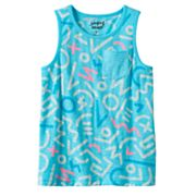 Boys 4-10 Jumping Beans® Graphic Print Slubbed Pocket Tank Top