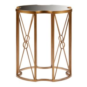 Madison Park Grayson Geometric End Table