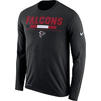 Men's Nike Atlanta Falcons Legend Staff Dri-FIT Long-Sleeve Tee