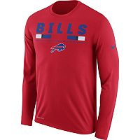 Men's Nike Buffalo Bills Legend Staff Dri-FIT Long-Sleeve Tee