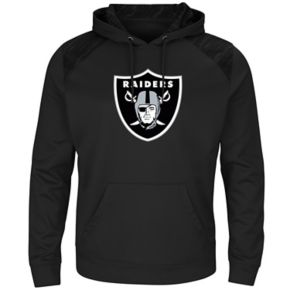 Men's Majestic Oakland Raiders Armor Hoodie