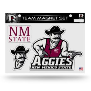 New Mexico State Aggies Team Magnet Set