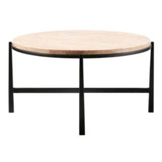 Madison Park Landon Stone Top Coffee Table