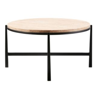 Madison Park Landon Stone Top Coffee Table