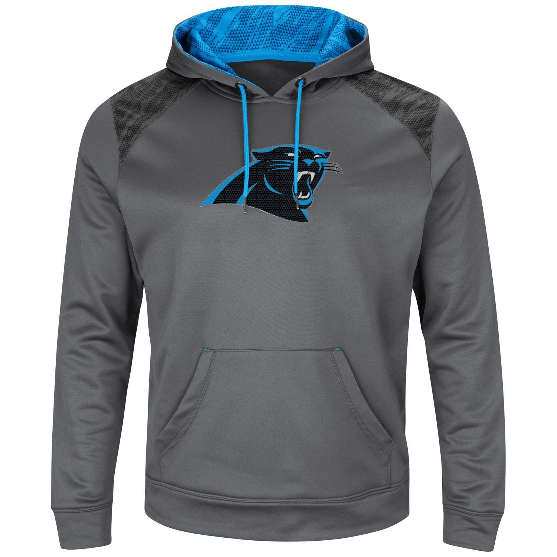 menu0027s majestic carolina panthers armor hoodie - Carolina Panthers Merchandise