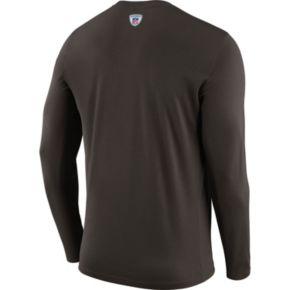 Men's Nike Cleveland Browns Legend Staff Dri-FIT Long-Sleeve Tee