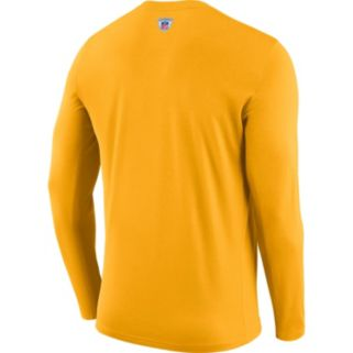 Men's Nike Green Bay Packers Legend Staff Dri-FIT Long-Sleeve Tee