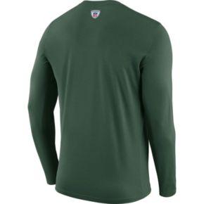 Men's Nike Green Bay Packers Legend Staff Dri-FIT Long-Sleeve Tee