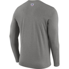Men's Nike Indianapolis Colts Legend Staff Dri-FIT Long-Sleeve Tee