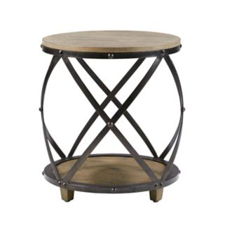 Madison Park Cirque Industrial End Table
