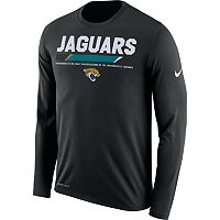 Men's Nike Jacksonville Jaguars Legend Staff Dri-FIT Long-Sleeve Tee