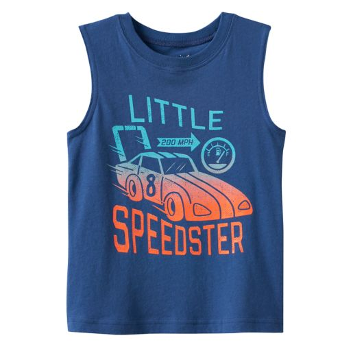 Toddler Boy Jumping Beans® Graphic Muscle Tank Top